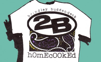 the Billboard tee shirt by 2B Homecooked