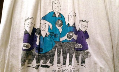 the Bowling Team shirt by 2B