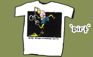 the DIRT shirt by 2B Homecooked
