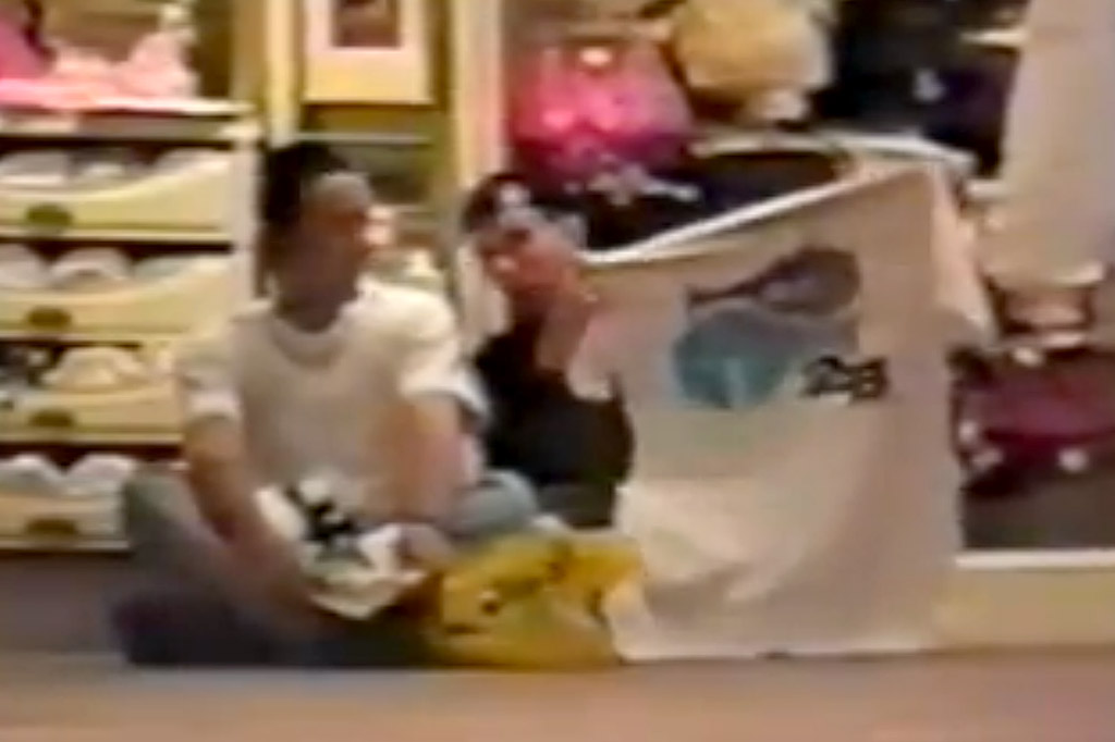 The 2B Dopefish tee shirt as seen in the 1991 video Baking With Leigh