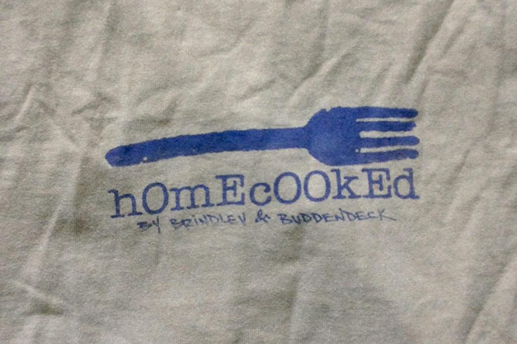 the 2B Fork Logo tee shirt