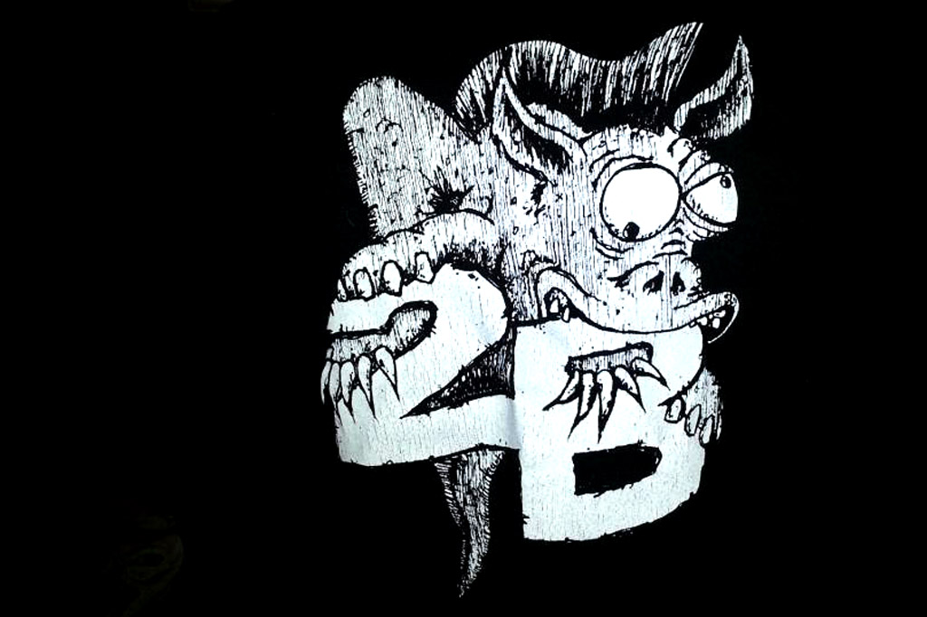 The 2B Monster tee shirt (back) [owner: Jimmy Deaton]