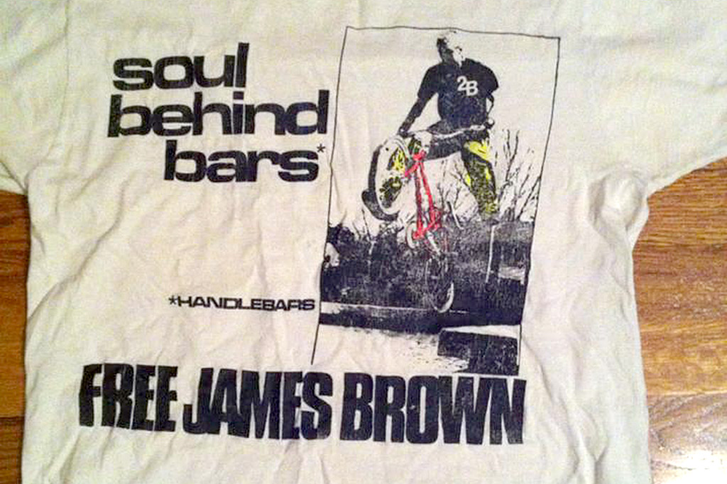 The Soul Behind Bars shirt by 2B (Free James Brown)