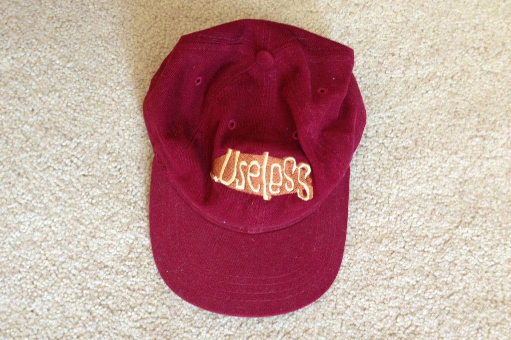 Useless Logo Baseball Hat