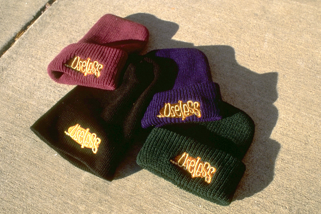 Logo Knit Hat from Useless