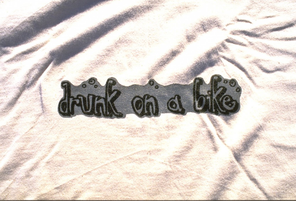 Drunk on a Bike Tee Shirt - Useless