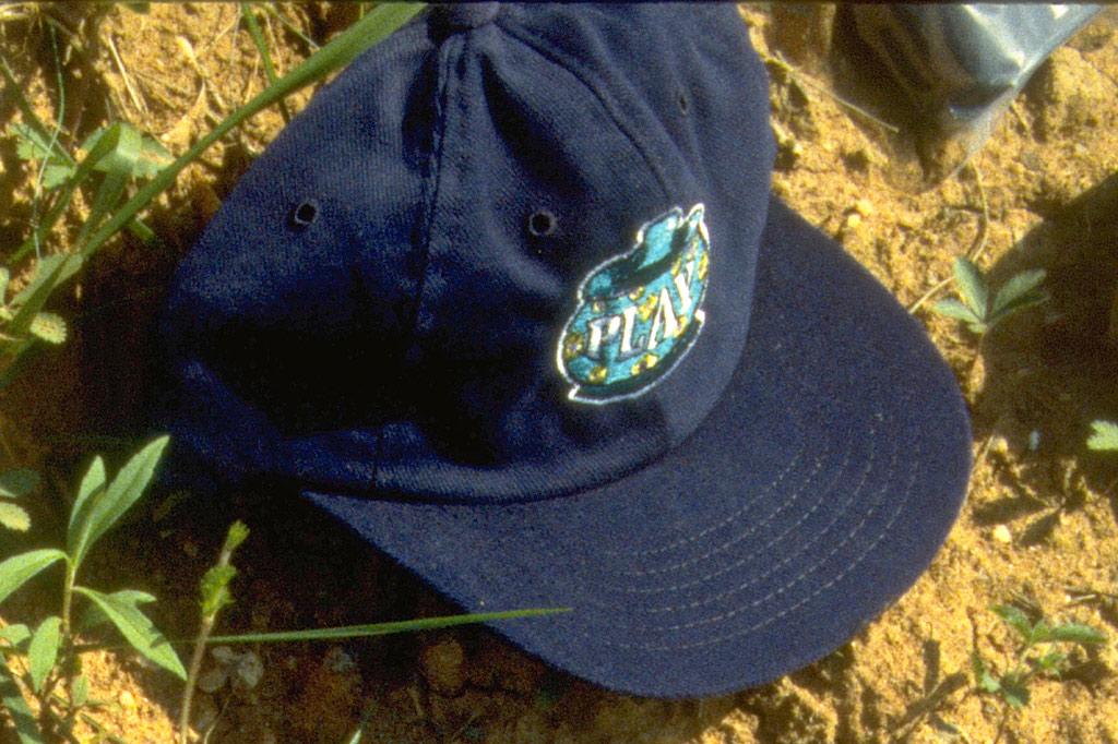 PLAY cookie jar hat, 1996
