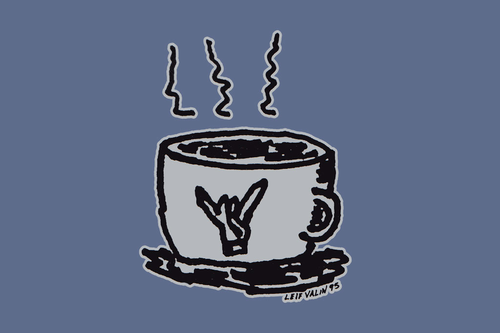 the Leif Valin Mug tee shirt by PLAY Clothes 1995