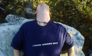 the I Love Sweet Corn tee shirt by PLAY