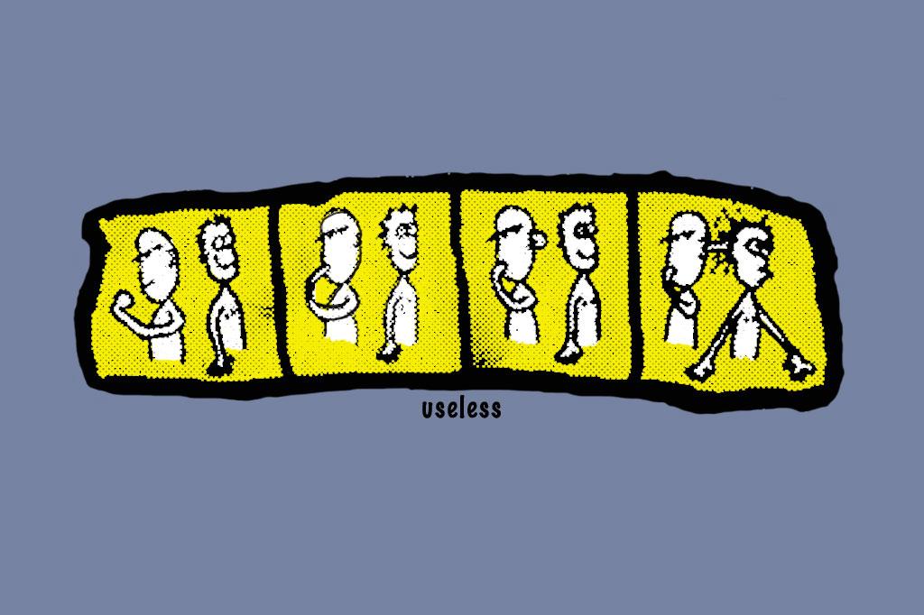 the Comic tee shirt by Useless
