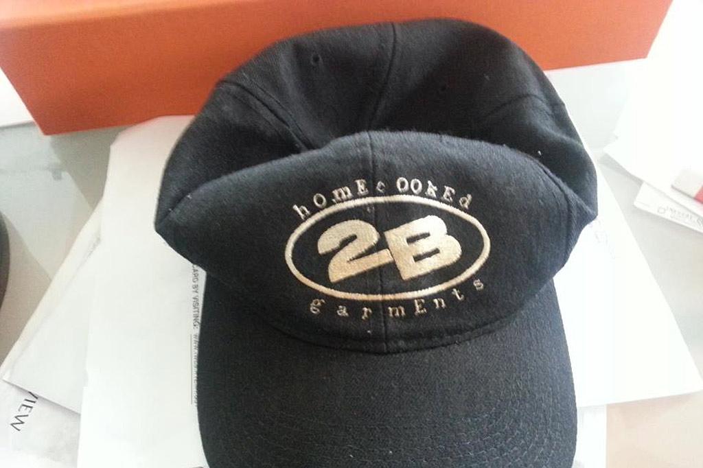 Original 2B Logo Baseball Hat (pic sent by Scott Yoquelet)