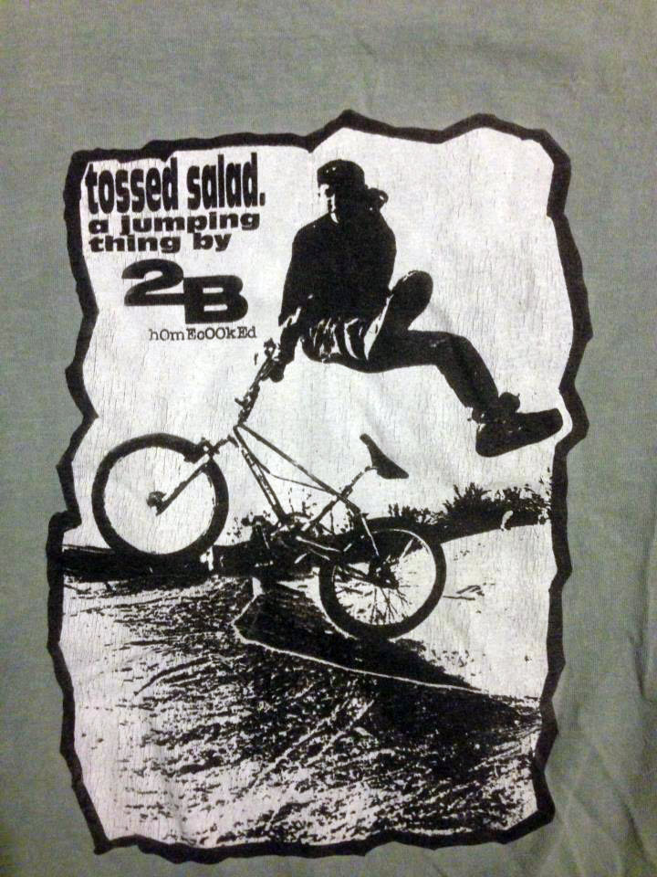 This 2B Tossed Salad tee shir belongs to Kevin Stotler