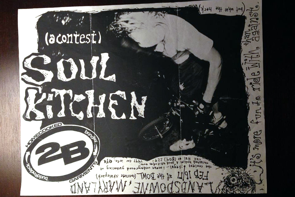 Soul kitchen Flyer thanks to Heath Balderston (Elastic Grunt Zine) for saving this!