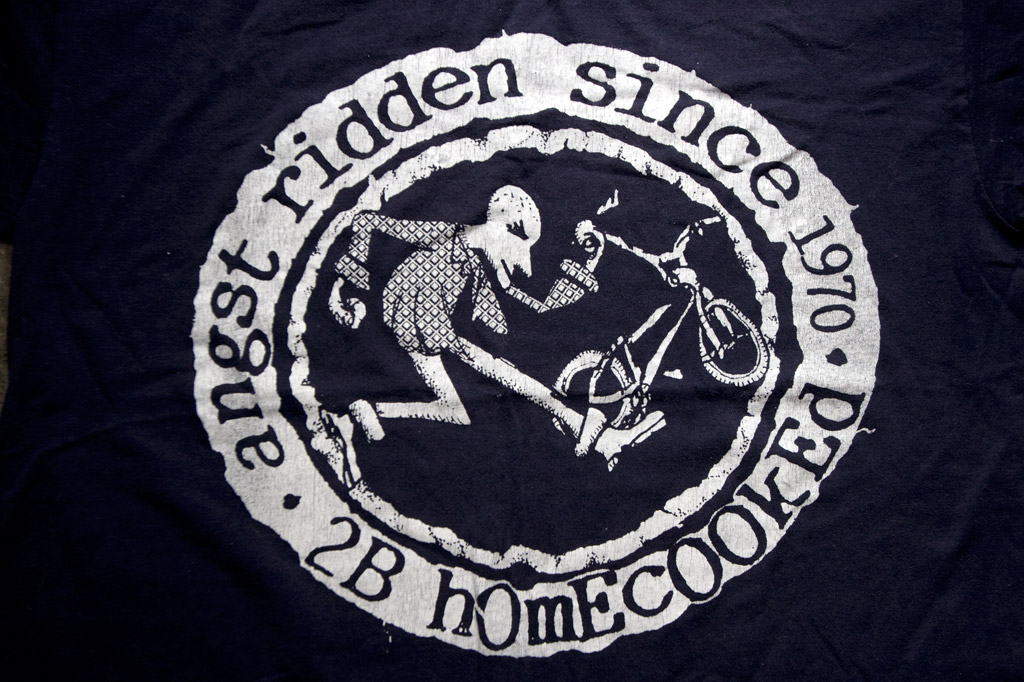 Angst Ridden tee shirt by 2B Homecooked
