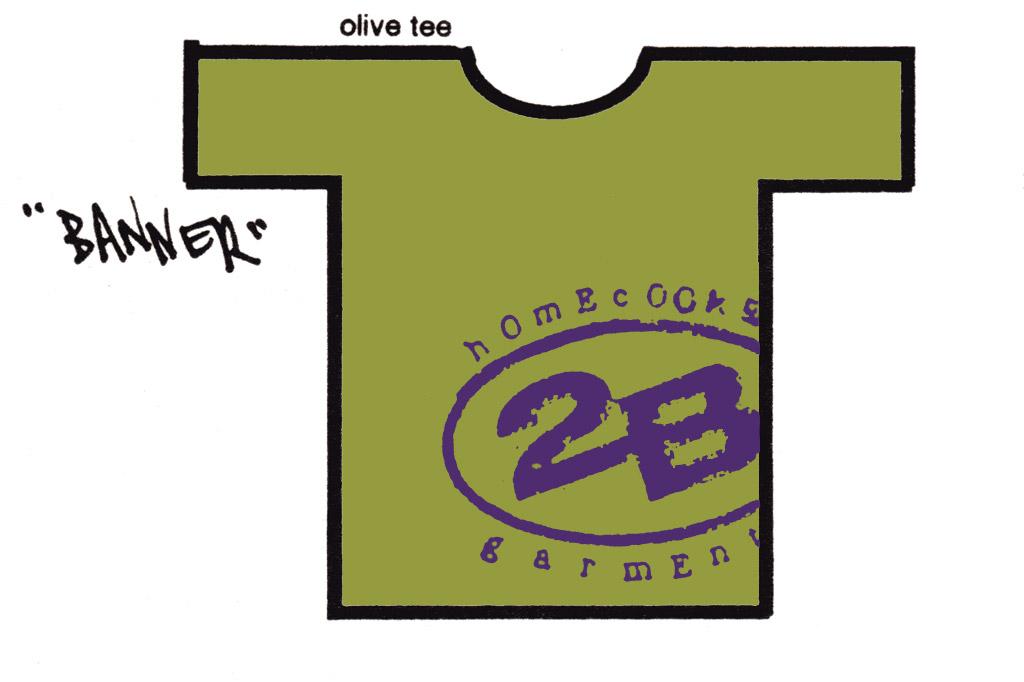 2B Banner Logo tee shirt