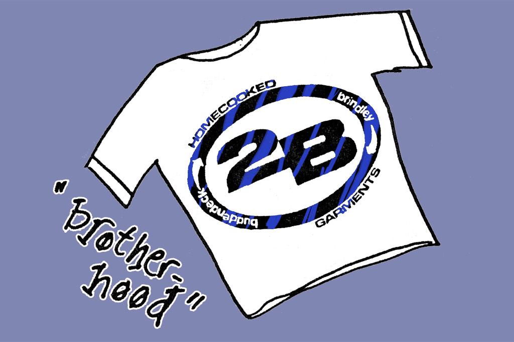 the Brotherhood tee shirt by 2B Homecooked