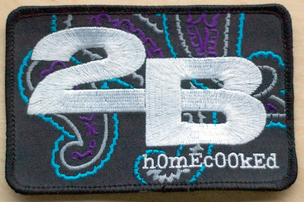 The 2B Homecooked paisley patch