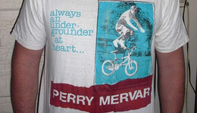 the 2B Perry Mervar tee shirt