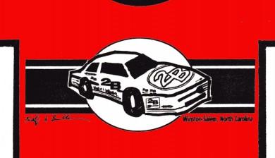 The 2B Stock Car tee shirt