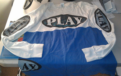 a PLAY jersey made in the late 90's