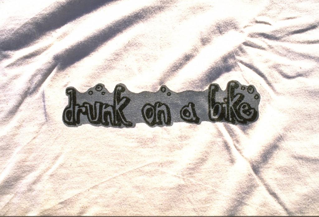Drunk on a Bike Tee Shirt - Useless