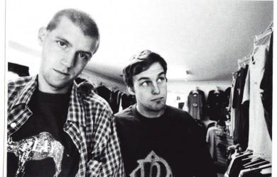 Hal & Leigh at PLAY/Useless headquarters circa 1997