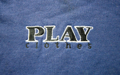 the PLAY Clohes embroidered logo shirt