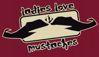 the Ladies Love Moustaches tee shirt by PLAY
