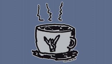 the Leif Valin Mug tee shirt by PLAY Clothes
