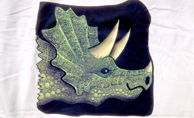 the Triceratops tee by PLAY Clothes 1997