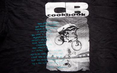 The Cookbook tee shirt