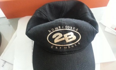 Original 2B Logo Baseball Hat (pic sent by Scott Yoquelet)