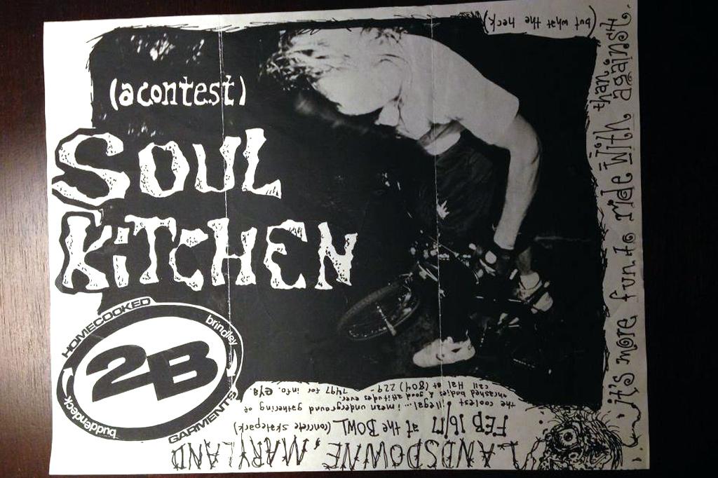 Soul kitchen Flyer thanks to Heath Balderston (Elastic Grunt Zine) for saving this!