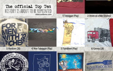 The top ten voted shirts